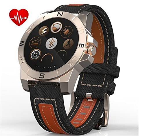 Best to Buy Outdoor sport Waterproof Bluetooth Smart watch with Camera for Apple iPhone IOS &