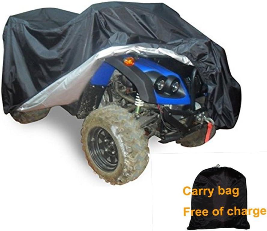 protecci/ón UV NOVSIGHT Talla XXL 190T Funda para ATV Moto Exterior Protecci/ón contra el Polvo a Prueba de Invierno