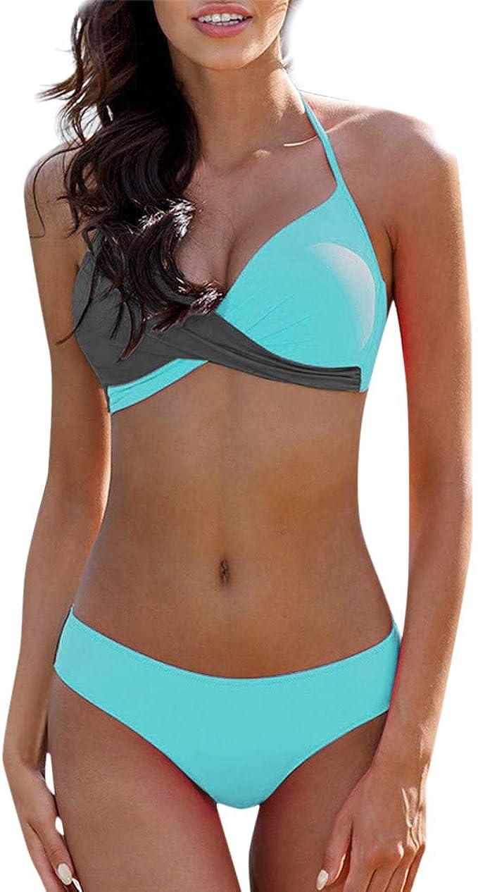 Frauit Trikini Donna Mare Micro Bikini Costumi Mare Da Ragazza Calzedonia Bikini Brasiliana Push Up Triangolo Costume Due Pezzi Imbottito Vita Alta Costume Da Bagno Swimsuit Spiaggia Amazon It Abbigliamento