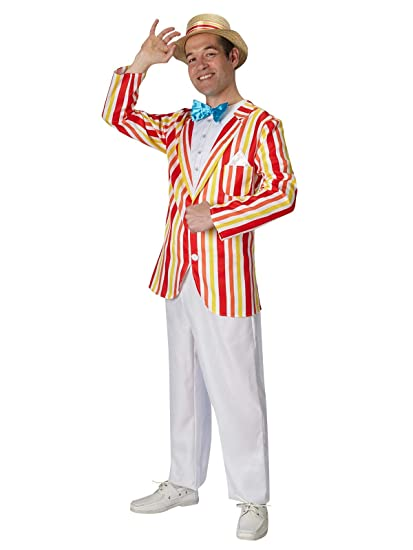 Rubies s – Disfraz de Oficial de Disney Bert Jolly Holiday Mary Poppins, para Adulto – XL