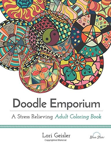 Doodle Emporium Stress Relieving Coloring