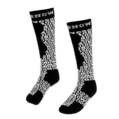F Fityle Calcetines Largos de Deporte Diseño de Moda, Calcetines ...