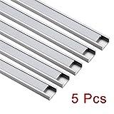 uxcell Aluminum LED Channel - 0.5Meter/1.64ft Led