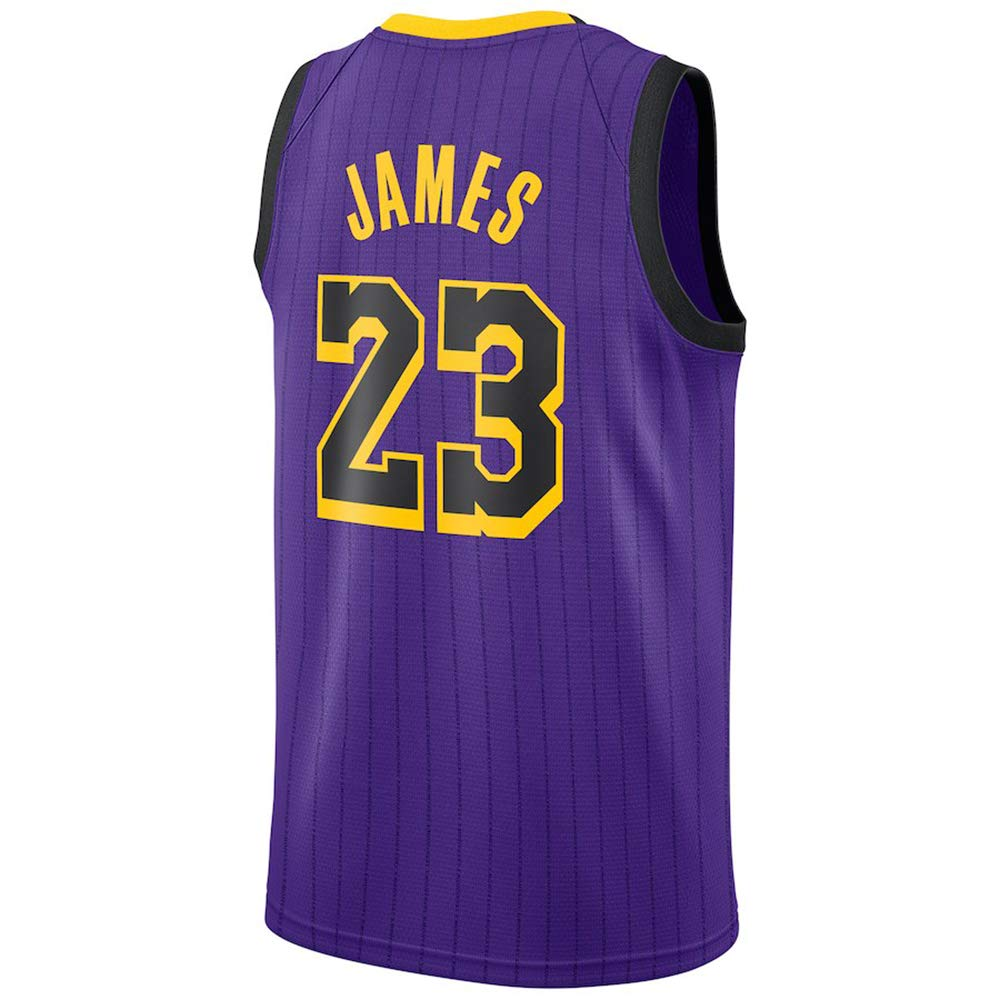 new products 2a363 707ef Amazon.com: LUNASON Mens #23 Basketball Jerseys Retro ...