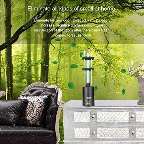 Obest Uv Air Sanitizer Ozone Uv Sterilization Lamp Germ