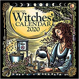 Witches Calendar 2020 Llewellyn's 2020 Witches' Calendar: Tiffany Lazic, Thorn Mooney