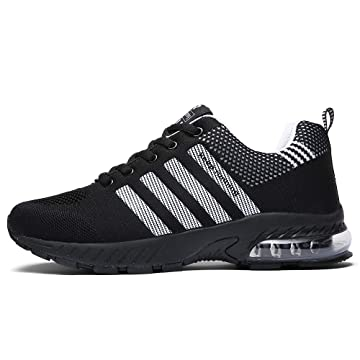 67489848655c2 Ahico Running Shoes Men - Air Cushion Mens Women Tennis Shoe Lightweight  Fashion Walking Sneakers Breathable Athletic Training Sport for Womens