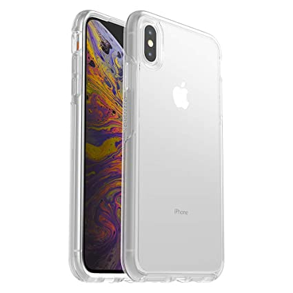 the best attitude f8fa2 5ae67 OtterBox SYMMETRY CLEAR SERIES Case for iPhone Xs Max - Retail Packaging -  CLEAR