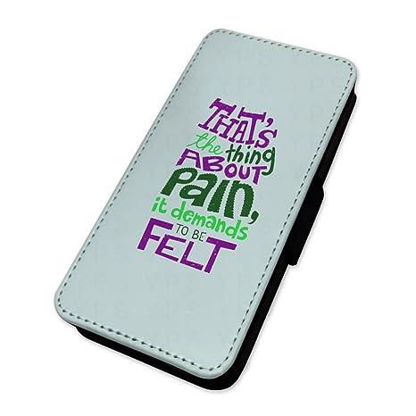 Dolor fieltro Quote – Funda con tapa tipo cartera funda tarjeta soporte Sony Xperia Z2 Compact