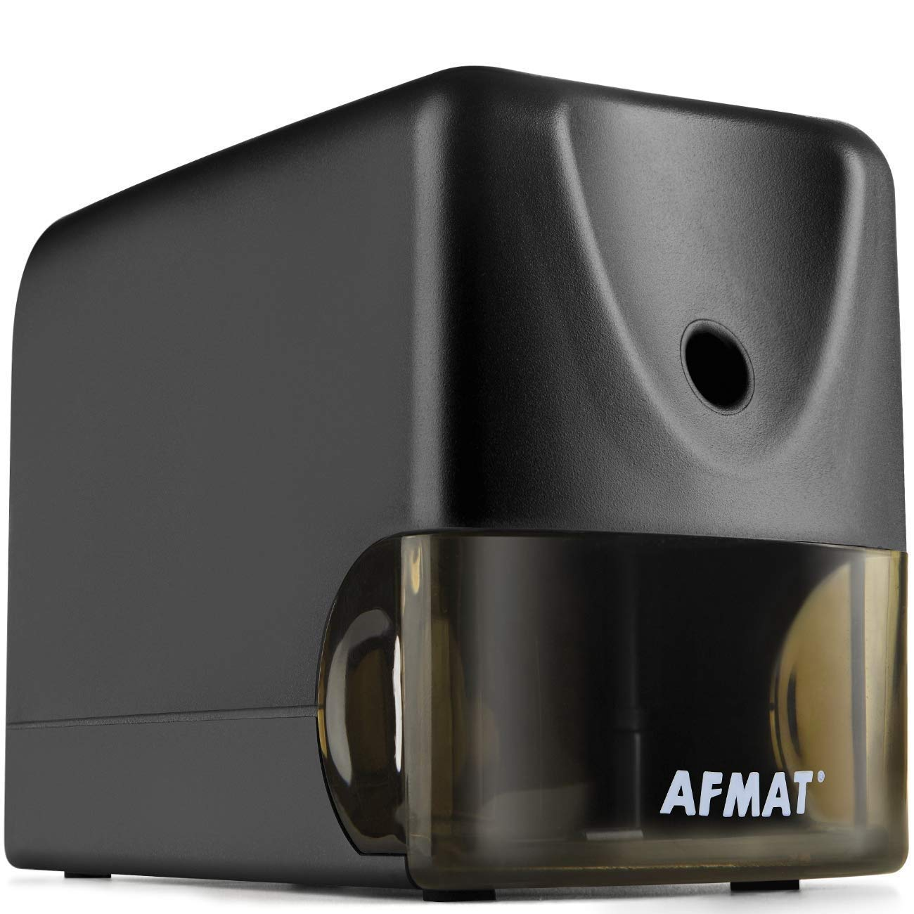 AFMAT Pencil Sharpener Heavy Duty, Electric Pencil Sharpener for Classroom, Industrial Pencil Sharpener, Fast Sharpen in 3s, Helical Pencil Sharpener Plug in for No.2/Colored Pencils,School,Office