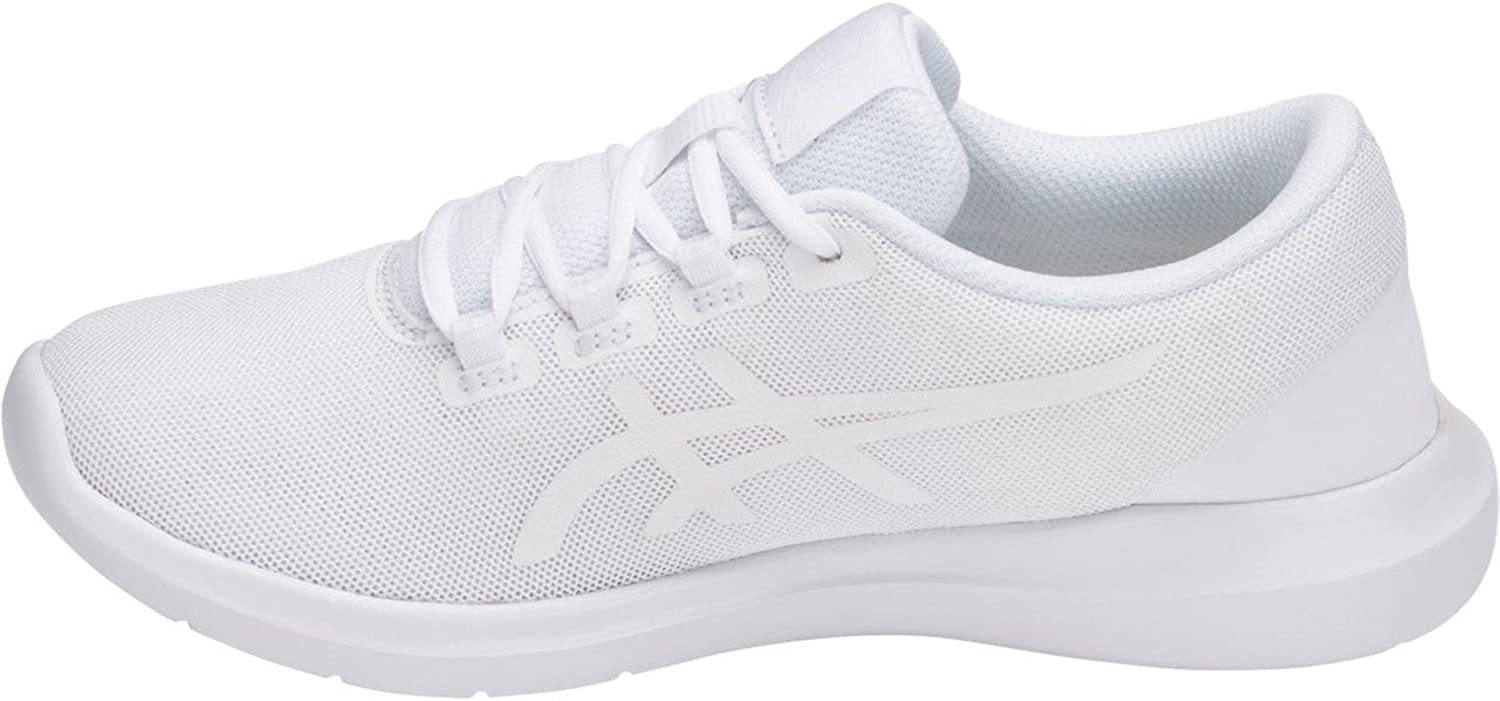 Womens Asics Metrolyte Q752N Black White Running Shoes Mesh Lace Up Trainers