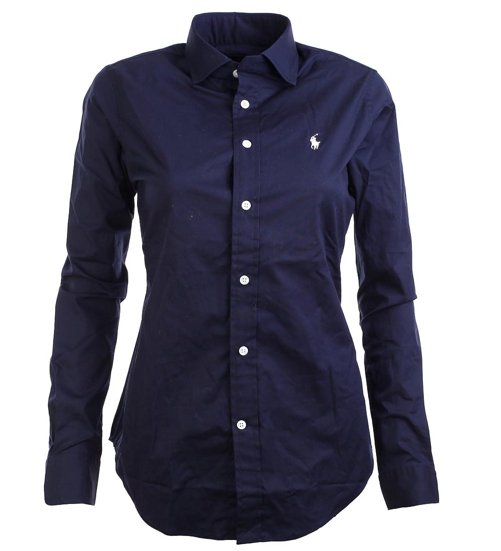 d1888ca18e0e8 30%OFF Polo Ralph Lauren Damen Bluse dunkelblau Größe 12 (L) - lkpp ...