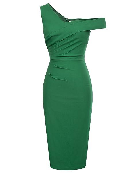 Rockabilly 50s vestido de damas vestidos festivos vestido retro S BP424-2