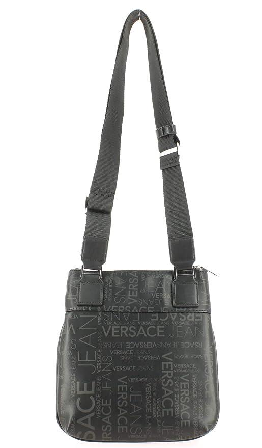 e94453fd2a59 Versace Jeans Linea Logo All Over Dis 5, Sac bandoulière  Amazon.fr   Vêtements et accessoires