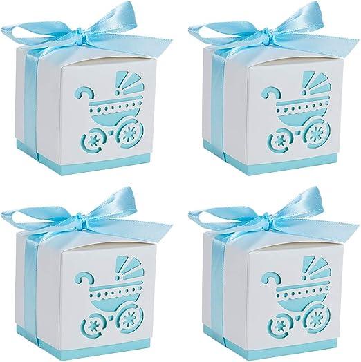 BENECREAT 50 Pack Cajas de Ducha para Bebé Cajas de Caramelos ...