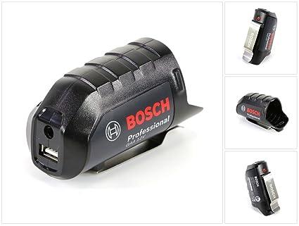 BOSCH PARA HEAT+ Chaqueta Professional Adaptador de batería GAA 10,8vV con USB 0618800002