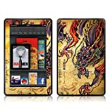 Kindle Fire Skin Kit/Decal - Dragon Legend - Sanctus (will not fit HD or HDX models)