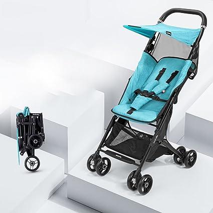 ZGP &Cochecito de bebé El Carro Plegable Ligero del bebé de Lite Puede Sentarse y mentir