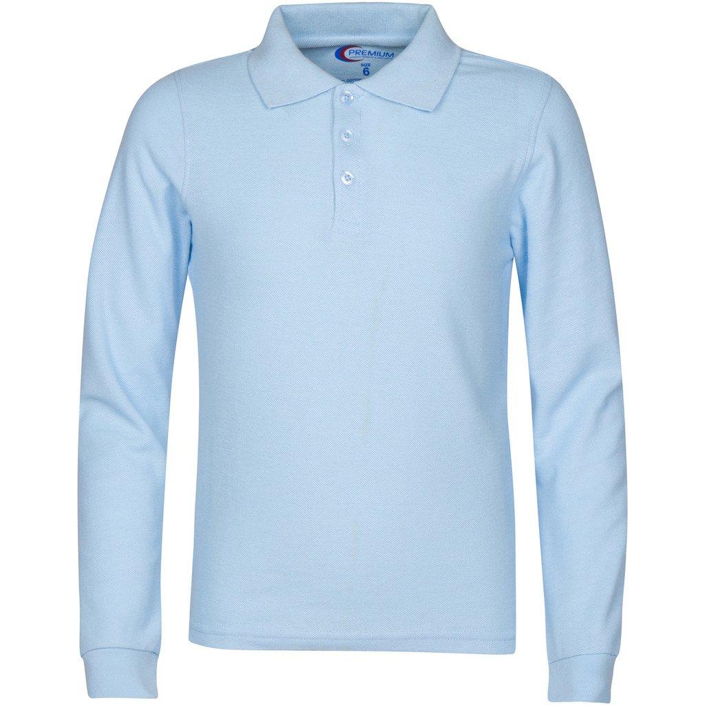 f6e2fa0a Premium Men's Long Sleeve Polo Shirts – Stain Guard Polo Shirts For ...