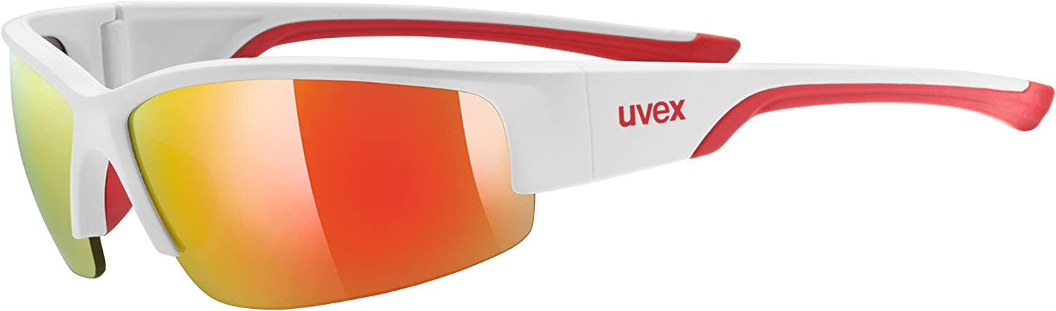 Uvex Sportstyle 215 White-Red Glasses 2016