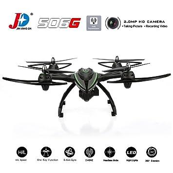 Goolsky JXD 506G Drone con Cámara 2.0MP HD 5.8G FPV en Tiempo Real ...