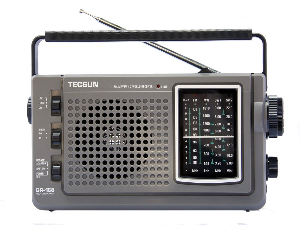 Tecsun GR-168 Kurbel Radio
