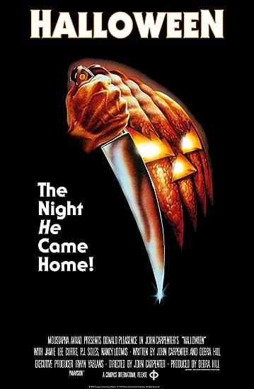 Amazon.com Halloween Movie Poster, Size 24x36 Posters \u0026 Prints