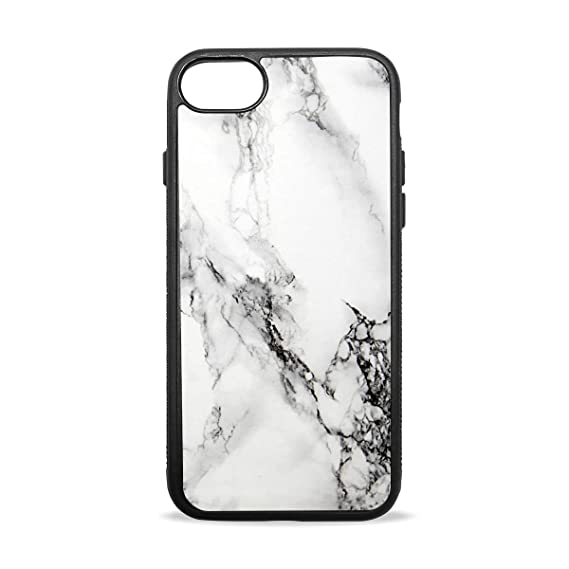 size 40 01701 f2ae7 Amazon.com: Black White Marble Case Compatible with iPhone7 / 7plus ...