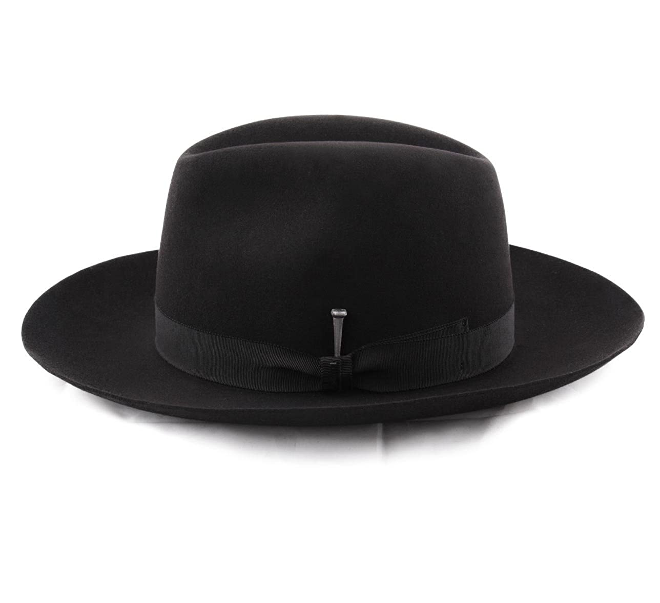 c06db3a7806 Bailey of Hollywood Ralat Fedora Hat Size L Noir at Amazon Men s Clothing  store