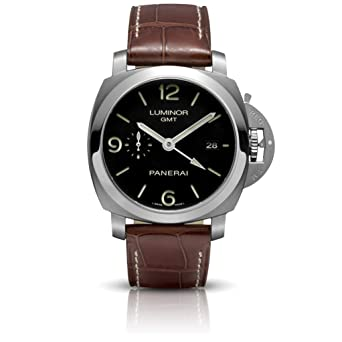 PANERAI Luminor 1950 3 Days Gmt Automatic Acciaio - Reloj (Reloj de pulsera, Masculino