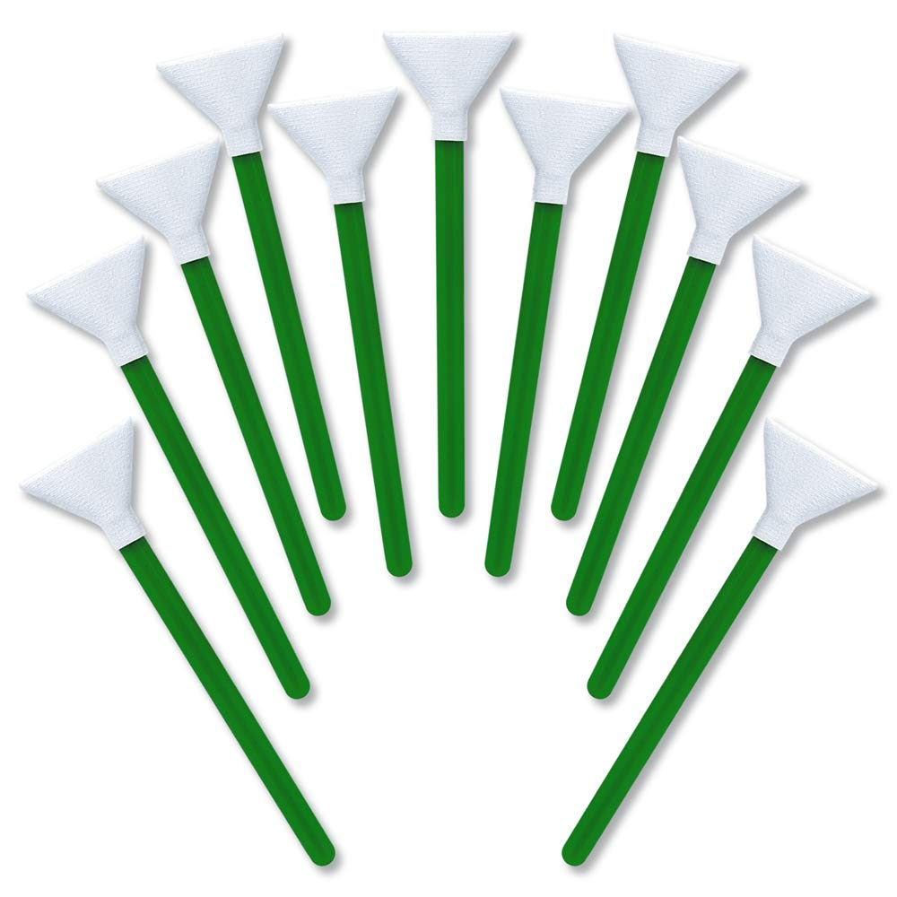 Sensor Cleaning swabs MXD-100 Green Medium Format 30-33 mm (12 per Pack) by VisibleDust