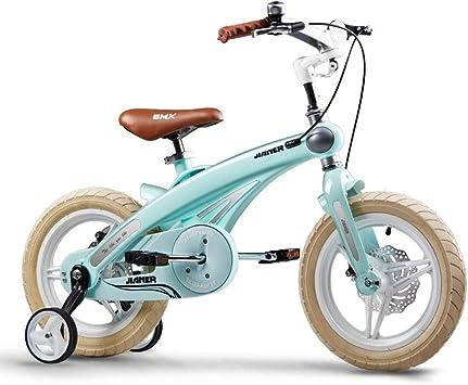 Bicicleta para niños de 14 Pulgadas, cojín de Asiento de Cuero ...