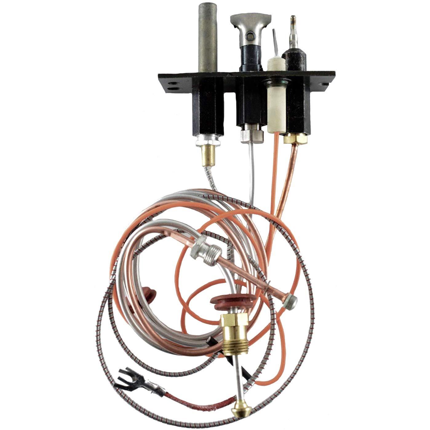Quadra-Fire, Heat N Glo & Heatilator Pilot Assembly LP (2103-011) by HHT