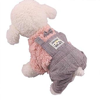 Ropa para Mascotas,Dragon868 Cute Polar Estilo británico de Cuatro Patas Correa de Ropa para Perro Mascota: Amazon.es: Ropa y accesorios