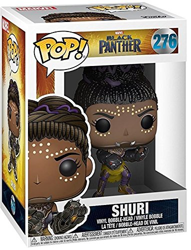 Funko Pop! Marvel: Black Panther - Shuri #276 Vinyl Figure (Includes Compatible Pop Box Protector Case)