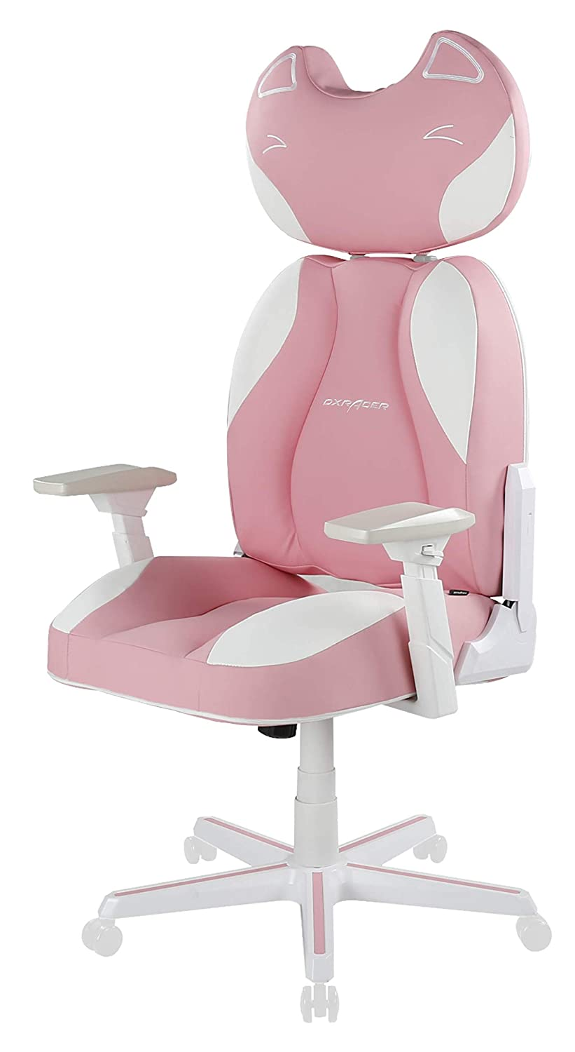 DXRacer DC JA001 PW Female Anchor Gaming Chair Pink