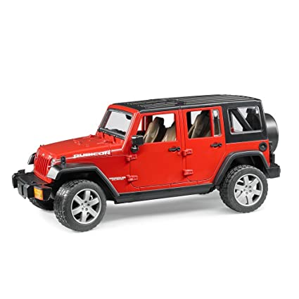 Bruder Jeep Wrangler Unlimited Rubicon   Color May Vary