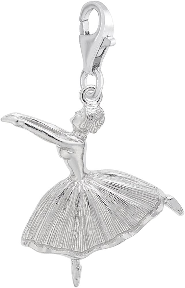 Ballet Dancer Charm With...
