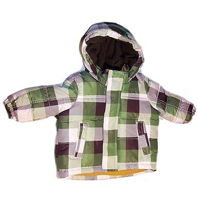 Carter s Infant   Toddler Boys Green Plaid Coat Winter Puffer Jacket 2T 5254ca8d8