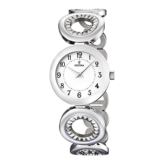 Reloj de mujer Festina F16546/5 correa acero: Amazon.es: Relojes