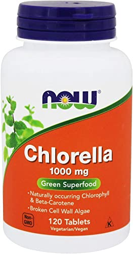 NOW Foods Chlorella 1000 mg-120 Tablets