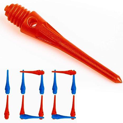 Buy IgnatGames Soft Dart Tips Set - 100 Pack Plastic Darts Tips (50