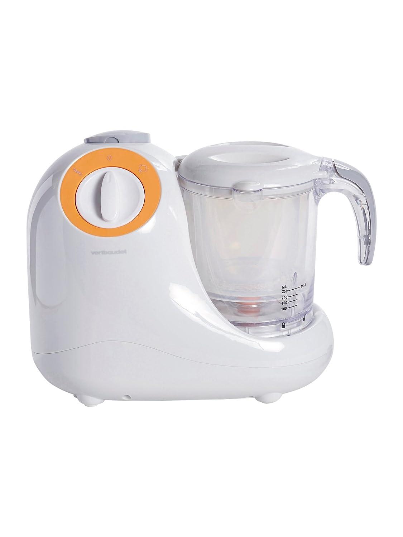 VERTBAUDET Robot cuiseur mixeur vapeur MagicCooker 5 en 1 Gris//abricot TU