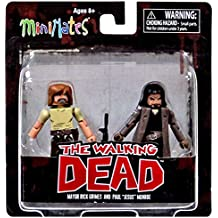 Diamond Select Toys The Walking Dead Minimates Series 7: Rick & Jesus Figure Figure (2 Pack)
