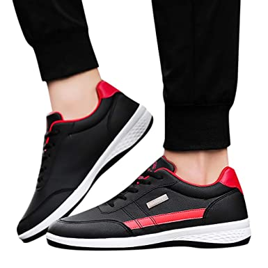 8e27f7a6595e8 Amazon.com: Sharemen Fashion Men Sneakers Walking Casual Shoes ...