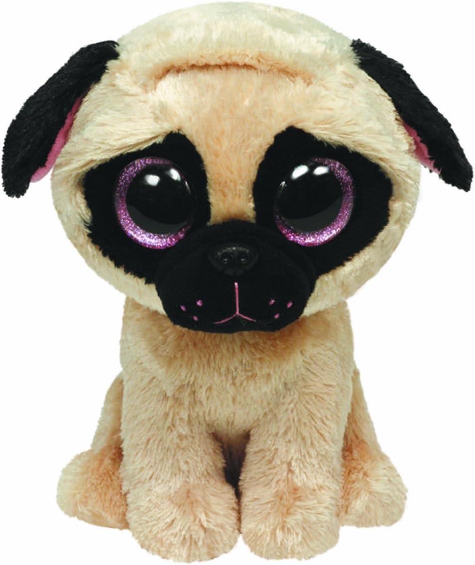 Alaska Stuffed Animals, Amazon Com Ty Beanie Boos Pugsly Dog 6 Plush Toys Games