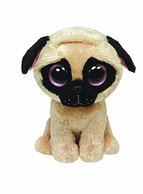 Amazon.com  Ty Beanie Boos Pugsly Dog 6