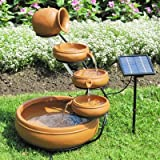 Koolatron Solar Cascading Fountain - 5-Tier