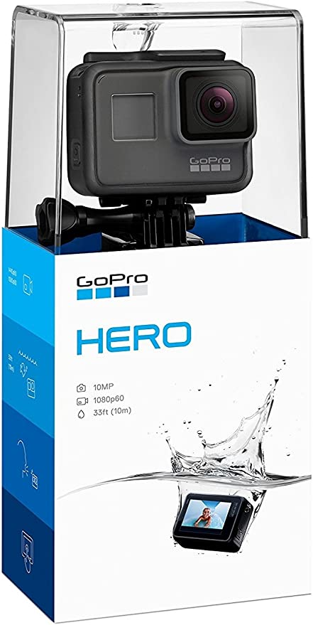 GoPro Hero (2018) - Videocámara de acción (10 MP, vídeo 1080p ...