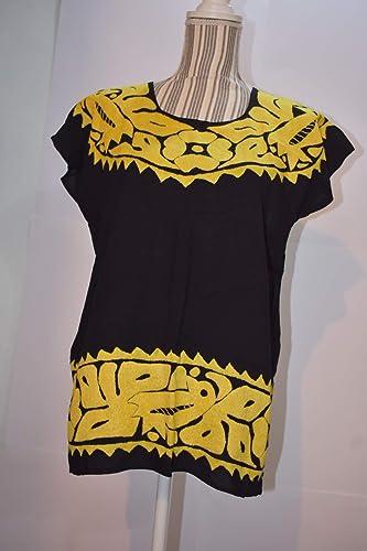 blusa bordada artesanal de oaxaca 8444509adfa05